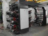 6 Farben HochgeschwindigkeitsFlexo Drucken-Maschine