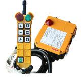 F24-6D 6 Tasten-doppelte Drehzahl-industrieller Kran-Radio Remote-Controller