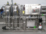 um sistema pequeno do tratamento da água do RO do estágio 2000L/H