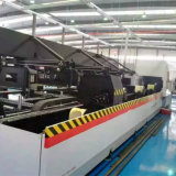 máquina de estaca do laser da fibra da câmara de ar do metal do CNC 1000W (EETO-P2060)