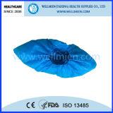 使い捨て可能なプラスチック防水靴カバー(WM-SC150121)