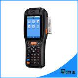Wireless Mobile POS Terminal Android Barcode Scanner com impressora térmica