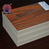 Scheda laminata grano di legno domestico della decorazione 4X8 per i comitati dell'armadio da cucina/parete
