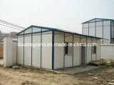 Casa pré-fabricada modular simples com o telhado do painel de Sanwich e a parede (DG9-020)
