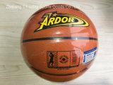 PU inferior del estilo del OEM del baloncesto del precio barato adulto de la calidad 8 pedazos del baloncesto 4#5#6#7