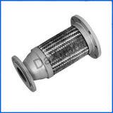 Boyau liquide en métal en métal 1/2 Bsp de bride