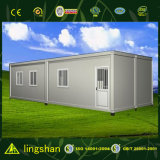 Flat mobile Pack Container House Used per Living o Cold Storage
