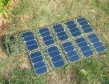 100W 육군 라디오에서 이용되는 큰 힘 이동할 수 있는 장치 Foldable 태양 에너지 충전기 부대