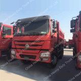 6X4 Sino 트럭 HOWO 371HP 쓰레기꾼 화물 자동차|팁 주는 사람|덤프 트럭