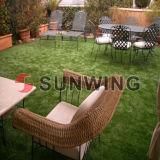 Kunstmatig Gras voor Landschap 20mm Hoogte Vier de Kwaliteit van Hiqh van de Kleur