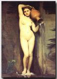 Pintura al óleo desnuda impresionista de la mujer del arte moderno hecho a mano de la lona de la alta calidad