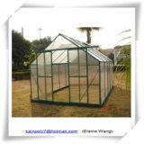 Serra del giardino di alluminio del blocco per grafici del policarbonato