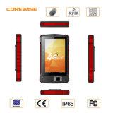 Android barato Tablet PDA, Smartphone Handheld PDA com Barcode Reader, Fingerprint