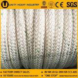 12繊維の化学ファイバーは係留ロープのポリプロピレン、混合されるポリエステルをロープをかける