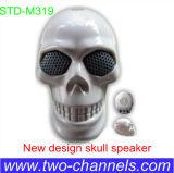 El mini flash Eyes el altavoz del cráneo, ordenador portátil portable mini Subwoofer estéreo, altavoz de Bluetooth para el teléfono móvil