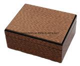 Montre de fini à haute brillance de piano et boîte-cadeau en bois de crayon lecteur