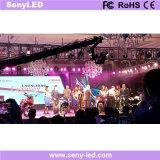 Afficheur LED d'intérieur de performance de l'étape P6 pour le but de location