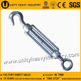 DIN 1480 Malhaable Steel Steel Steel Turnbuckle
