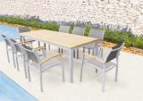 Modern Euro Outdoor Patio Furniture Jardim Alumínio Sling Chairs