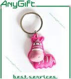 3D 1 Side Design를 가진 모터 Shaped Soft PVC Keyring