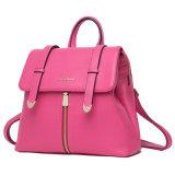 Petit sac en cuir de sac à dos d'école de mode de dames en gros de modèle (YL0805)