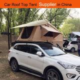 3~4personsオフロード車の屋根の上のテントのキャンバスのキャンプテント