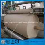 Caixa ondulada Kraft da caixa que recicl a linha de produção de papel da maquinaria da planta
