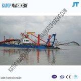600cbmカッターの吸引の浚渫船の泥の浚渫船の砂の浚渫船