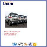 De Vrachtwagen van de Tractor van Beiben met Motor 380HP voor Mongolië met Mercedes-Benz