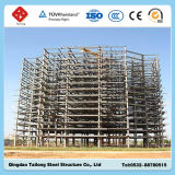 Negozio d'acciaio a più strati della struttura d'acciaio della costruzione