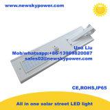 Lumière solaire de jardin du détecteur de mouvement DEL avec l'énergie solaire