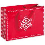 Noircir à l'extérieur le sac de cadeau de papier de marque estampé mini par logo de clients de sac de modèle fait sur commande pour des achats