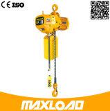 alzamiento de cadena eléctrico 0.5t con el gancho de izado