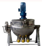 Caldera eléctrica de cocinar industrial del atasco del acero inoxidable 304 con el conjunto de la bandeja