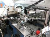 Het wijd Geweven en Afgedrukte Knipsel van het Etiket en Machine Foldding