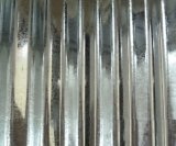 Chapa de aço galvanizada ondulada