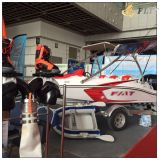 barco de pesca externo del esquí del motor del revoloteo del 16FT 460b en la última expo