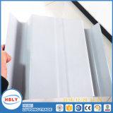 Plaque ondulée Bendable de polycarbonate de Sunhouse de couche UV