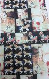 Составленная напечатанная ткань Organza для Носить способа повелительницы
