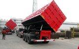 반 60t 3 차축 덤프 트럭 트레일러 또는 팁 주는 사람 트럭
