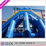 屋外の運動場の大人のための巨大で膨脹可能なカバ水スライド
