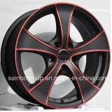 Rodas de carro, liga de aço borda de roda 4X4 com alta resistência
