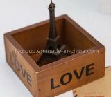 Antiquiteit die Aangepaste Houten Doos voor Verpakking beëindigen