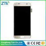 Schermo di tocco originale dell'affissione a cristalli liquidi del telefono mobile per la galassia S7 di Samsung