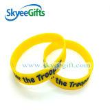Bracelet fait sur commande de silicones pour le cadeau promotionnel