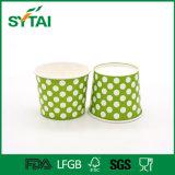 Zoll gedruckte doppeltes PET überzogene verschiedene Größen von Eiscreme-Papiercup