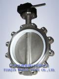 Valvola a farfalla dell'acciaio inossidabile (D37L1X-10/16)