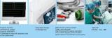 Nuevo - monitor de pacientes de múltiples parámetros de 15 pulgadas con caja de almacenamiento