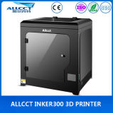 Fábrica de LCD-Touch 300 * 300 * 300 mm Tamaño del edificio 0.05mm impresión de precisión de escritorio 3D