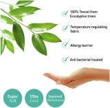 Protezione impermeabile del materasso di Tencel - base della culla